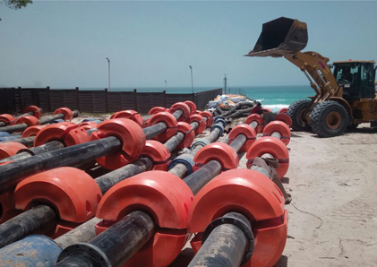Floating Dredging Pipes Supplier UAE