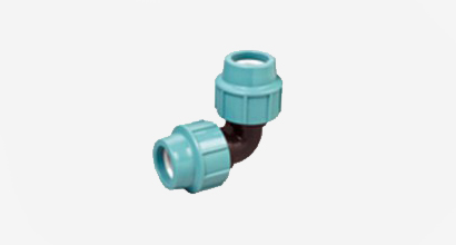 Compression Fitting Elbow 90 degree