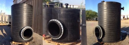 Fabricated HDPE Tanks