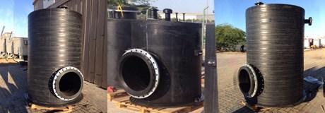 Fabricated HDPE Tanks