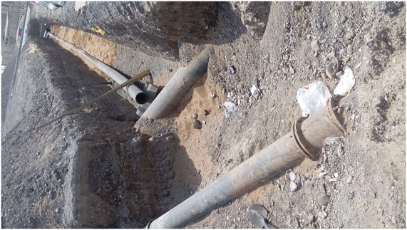 Union Global Projects - Supply & installation of HDPE Pipe