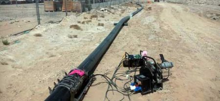 Installation and Supply of HDPE Pipeline 10.5km