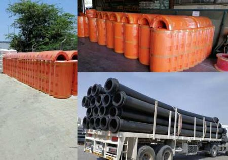 Supply of Dredging Floats and Pipes