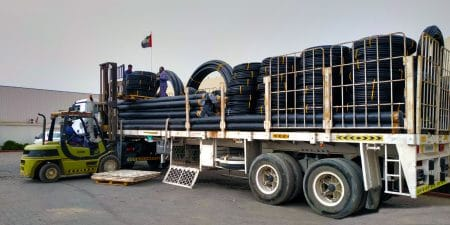 Supply of HDPE Pipes for the Dubai Solar Park, UAE